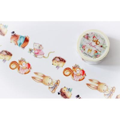 Asuka Studio Memory Place Forest Friends - Washi Tape
